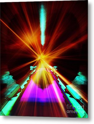 When A Prayer Goes Up Metal Print
