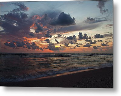 Wiggins Beach Summer Sunset. Metal Print by Nick  Shirghio