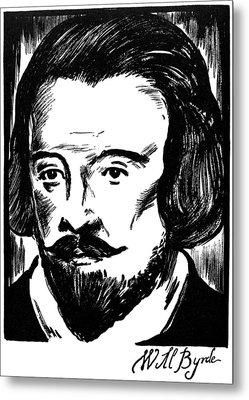 William Byrd (c1540-1623) Metal Print by Granger