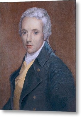 William Wilberforce 1759-1833, British Metal Print by Everett