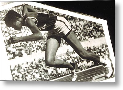 Wilma Rudolph, Winner Of 3 Gold Medals Metal Print by Everett