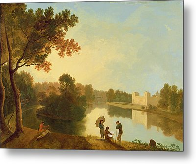 Wilton House From The South-east Metal Print by Richard Wilson