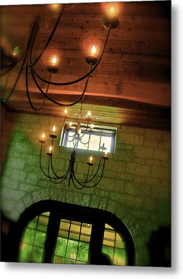 Winery Ceiling Metal Print by Amber Hennessey