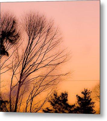 Winter Sunrise Metal Print by Laurie Breton