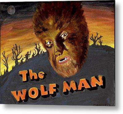 Wolf Bane Baby Metal Print