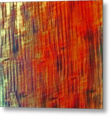 Wood Tones Metal Print by James Mancini Heath