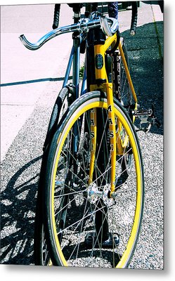 Worldly Cycle Metal Print by JAMART Photography