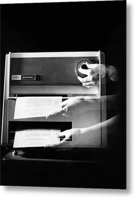 Xerox 813, The First Desktop Metal Print by Everett