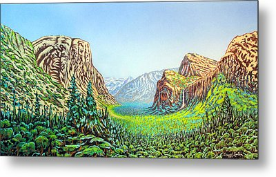 Yosemite Metal Print by David Linton