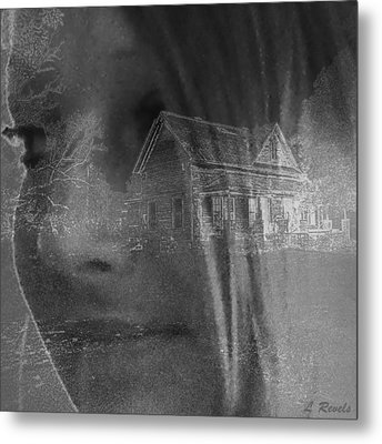 You Cant Go Home Again Metal Print by Leslie Revels Andrews