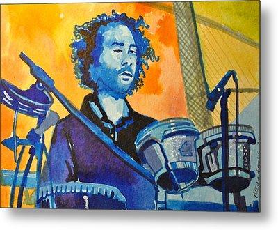 Yum Um Drum Metal Print by Patricia Arroyo
