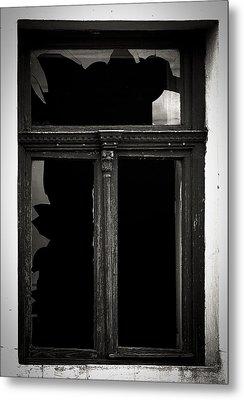 Broken Window Metal Print by Calinciuc Iasmina
