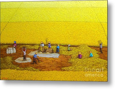 Harvest 17 Metal Print by Sri Martha