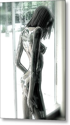 Prior Evolution Of Eve Figure 4  Metal Print by Greg Coffelt