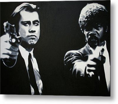 - Pulp Fiction - Metal Print