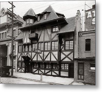 Scranton Pa Zenke's Alt Heidelberg Restaurant Early 1900s Metal Print