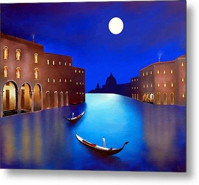 Venice Nights Metal Print
