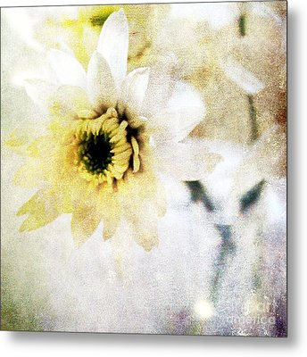 White Flower Metal Print by Linda Woods