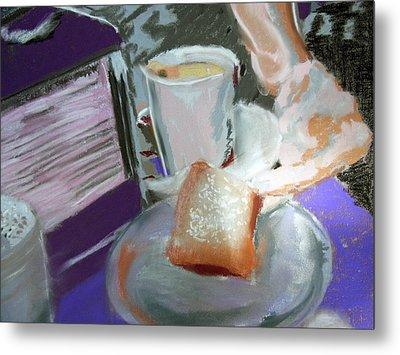 040517 Beni Gets And Coffee Metal Print