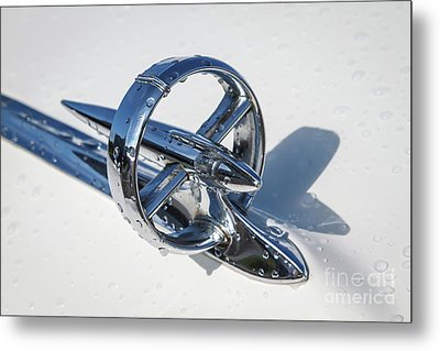 Metal Print featuring the photograph 1953 Buick Hood Ornament by Dennis Hedberg