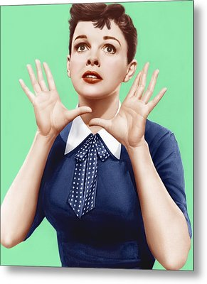 A Star Is Born, Judy Garland, 1954 Metal Print