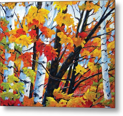 A Touch Of Canada Metal Print by Richard T Pranke