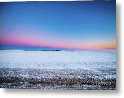 A Winter's Morning Metal Print by Ian McGregor