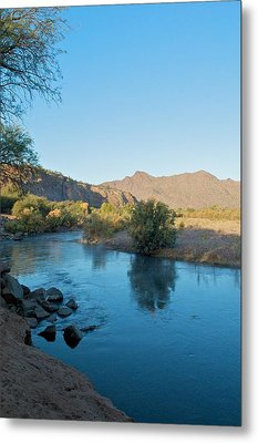 Along The Verde River 14 Metal Print by Susan Heller