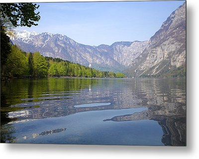 Metal Print featuring the photograph Alpine Clarity by Ian Middleton