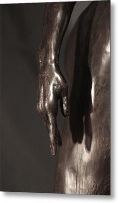 Amazing Grace Close Up View Metal Print by Dan Earle
