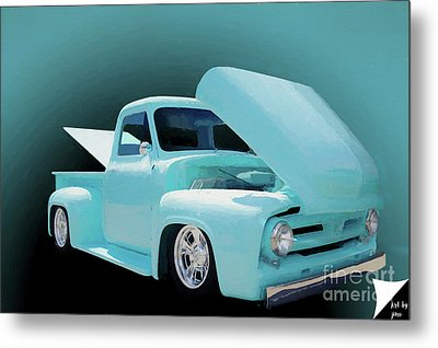 Metal Print featuring the photograph Baby Blue 2 by Jim  Hatch