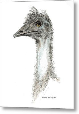 Bad Leroy Brown The Emu Metal Print