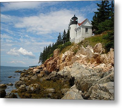 Bass Lighthouse Metal Print