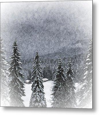 Bavarian Winter's Tale I Metal Print
