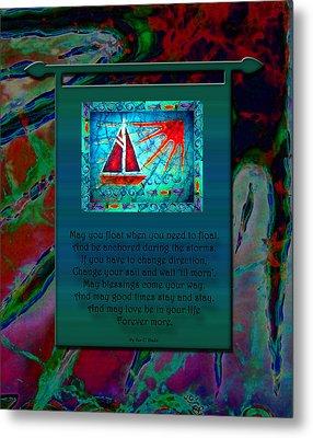 Blessings 2 Metal Print by Sue Duda