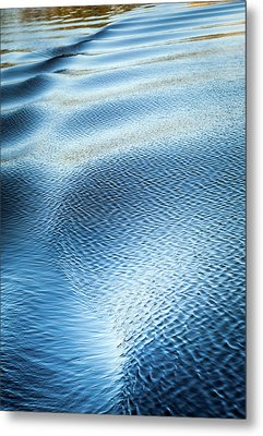 Blue On Blue Metal Print by Karen Wiles