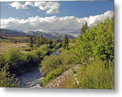 Breckenridge Colorado Metal Print by James Steele