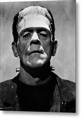 Bride Of Frankenstein, Boris Karloff Metal Print by Everett