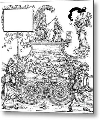 Burgkmair - Maximilian Metal Print by Granger
