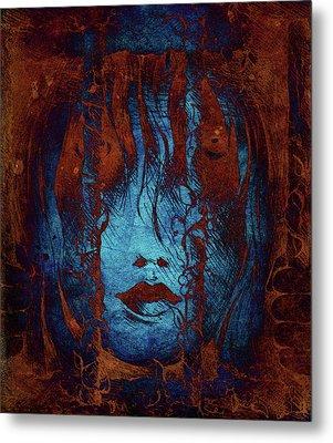 Captive Metal Print by Rachel Christine Nowicki