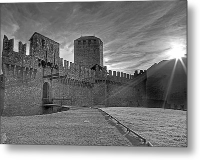 Castle Metal Print by Joana Kruse