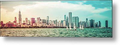 Metal Print featuring the photograph Chicago Skyline by Joel Witmeyer