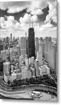 Metal Print featuring the photograph Chicago's Gold Coast by Adam Romanowicz