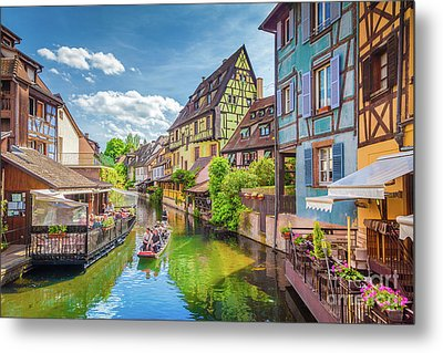 Colorful Colmar Metal Print by JR Photography