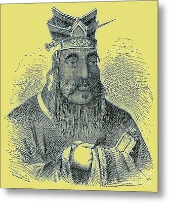 Confucius Metal Print by English School