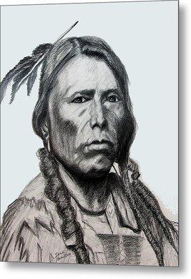 Crazy Horse Metal Print by Stan Hamilton