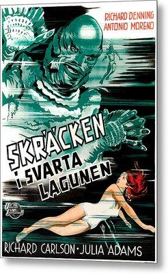 Creature From The Black Lagoon, Aka Metal Print