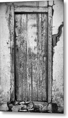 Old Door Metal Print