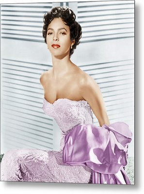 Dorothy Dandridge, Ca. 1950s Metal Print by Everett