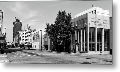 Downtown Huntington West Virginia Metal Print by L O C